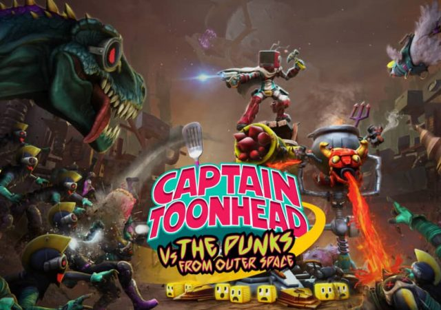 Captain ToonHead vs the Punks from Outer Space